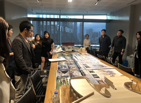 Northumbria University's final year student critiques