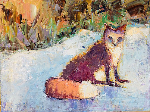 Winter Fox by Alice Chen