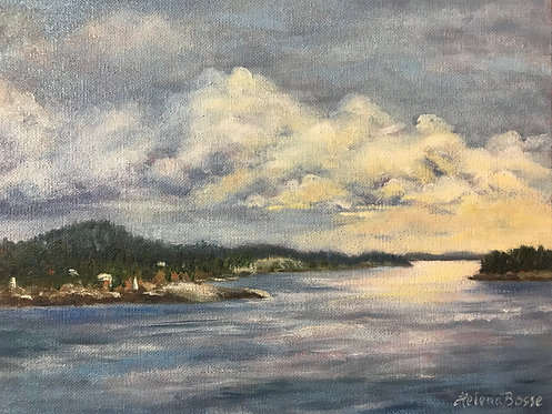 Eastport Morn by Helena Bosse