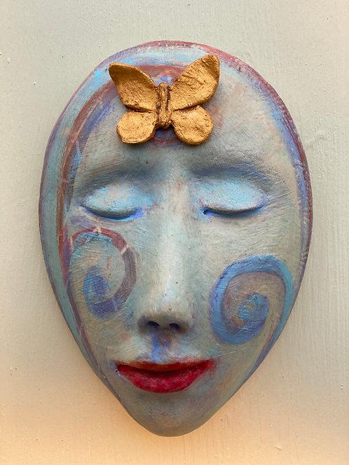 Golden Spirit Butterfly by Elizabeth Ostrander