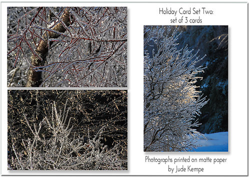 Holiday Cards: Set Two, by Jude Kempe
