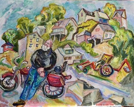 Diana Young: Motors in Lubec