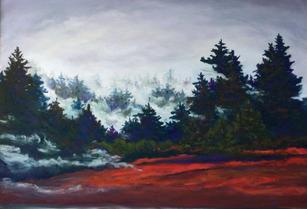 """Fog Lifting II"" by Cynthia Morse"