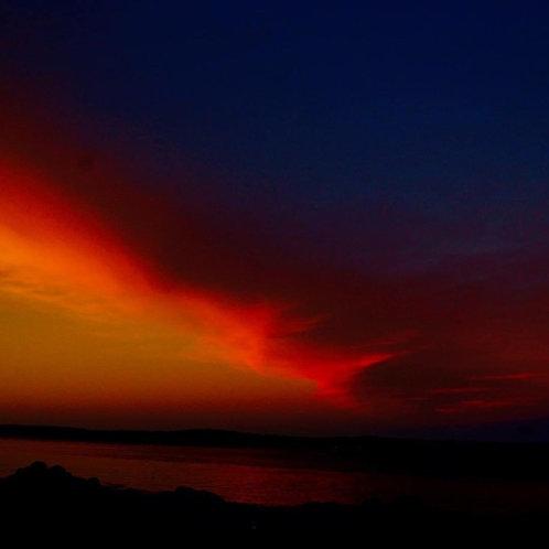 Susan Moore: Passamaquoddy Sunset - Edge of Night