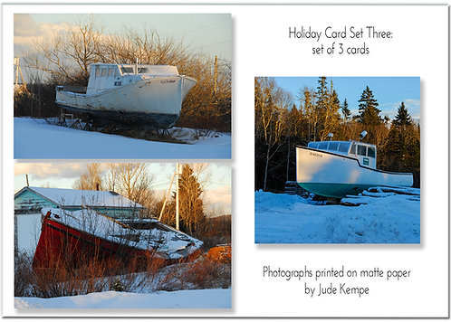 Holiday Cards: Set Three, by Jude Kempe