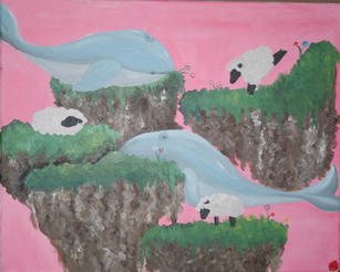 """""""Dreamland"""" by Madeline Collins (age 14)"""