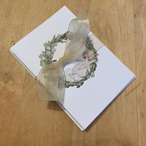 Sea Wreath Card Set