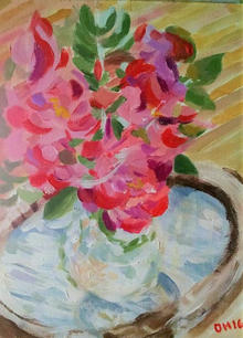 """Lupines"" by Dennis  Schaefer"