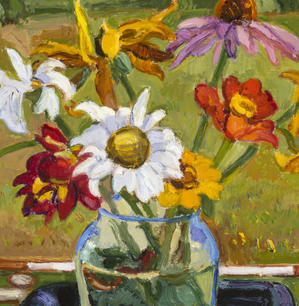 """""""August Flowers"""" by Sharon Yates"""