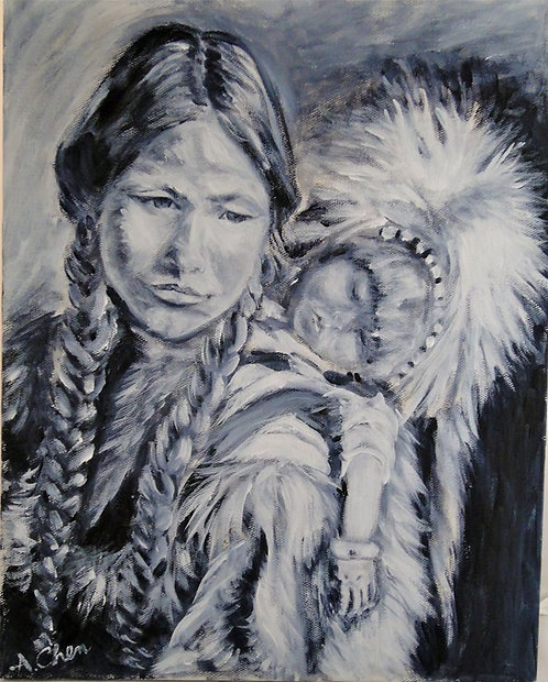 Alice Chen: Mother and Child