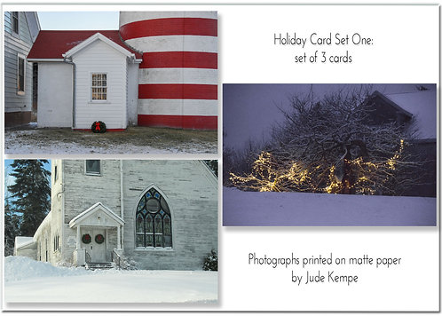 Holiday Cards: Set One, by Jude Kempe