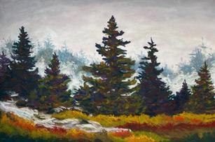 """Fog Lifting III"" by Cynthia Morse"