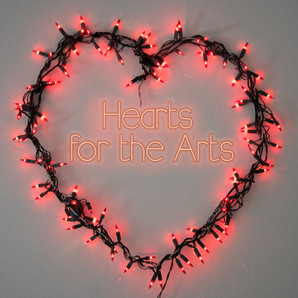 Showing the Love! Hearts for the Arts Auction Brings Art and Music Together to Benefit the Gallery