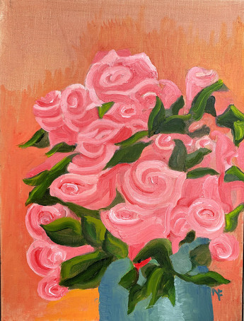 Very Pink Roses
