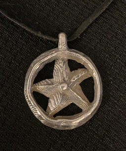 """Sea Star Pendant"" by Drew Proctor"