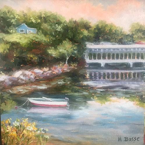 Helena Bosse: Scene at Duck Trap Bridge