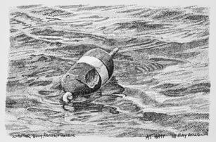 """""""Lobster Buoy"""" by A.T. Watt"""