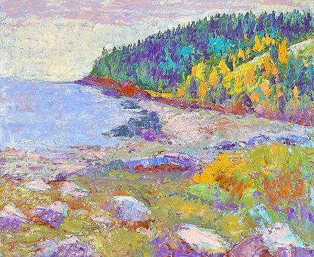 Alice Chen: Maine Beach