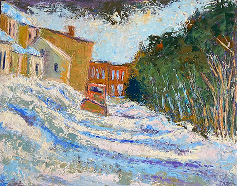 Eastport Winter Colors by Alice Chen