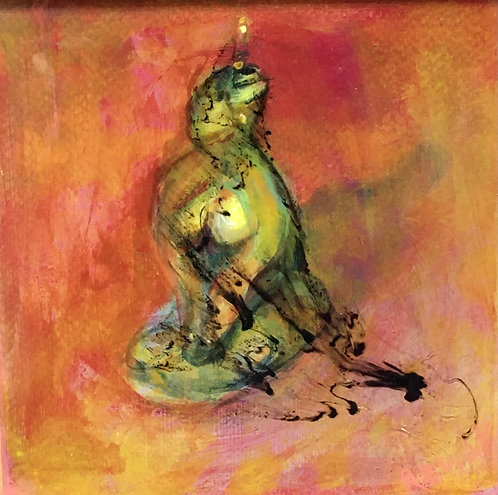 Smoldering Woman Candle by by Peesh Rewak McClanahan