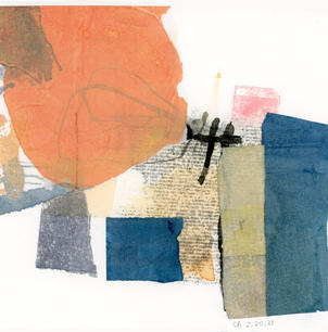 """""""Collage 2.20.21"""" by Catherine Adelman"""