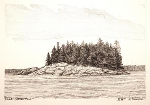 """Maine Island"" by A.T. Watt"