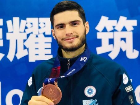 TEAM AS : Kyliann Bonnet médaillé de bronze aux jeux militaires en Chine
