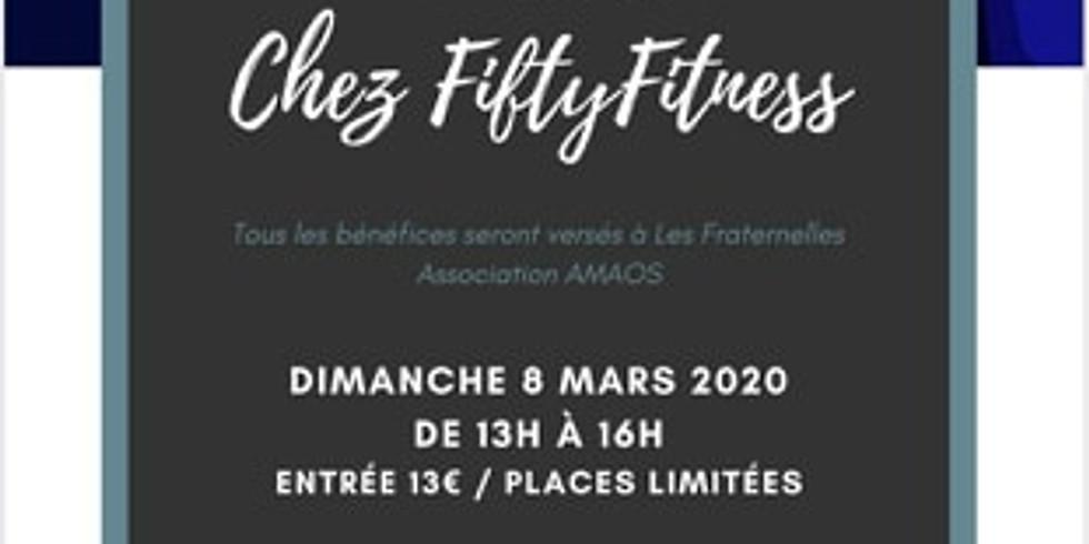 """""""Pour Elles! Chez Fiftyfitness  JOURNEE INTERNATIONALE DE LA FEMME"""