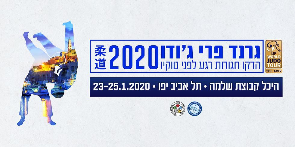 Judo Grand Prix Tel Aviv 2020