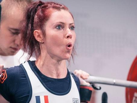 Mélodie Anthouard confirme sa belle forme aux championnats d'Europe