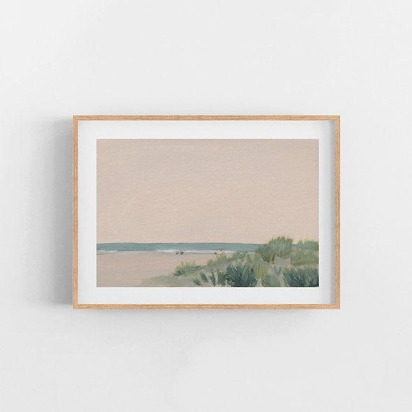 Pink Sunset | A Horizontal Print