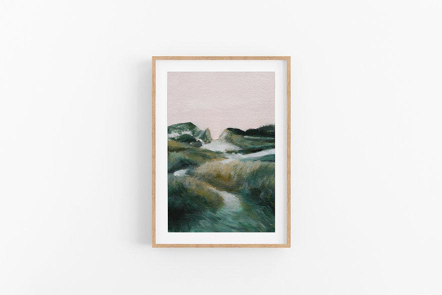 """10 / 18     """"The Hills We Climb"""" Landscape Original"""
