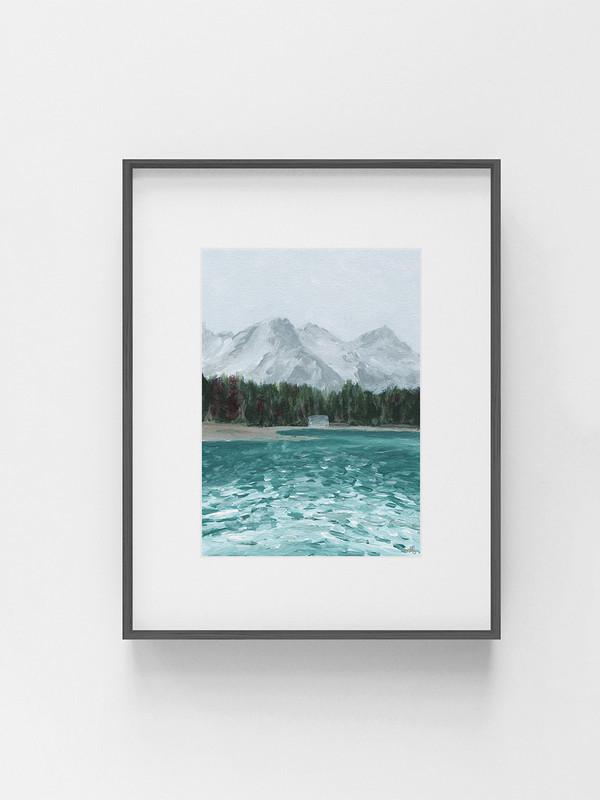 Clarissa-Mae-Art-Quiet-Cabin-Dark-frame.jpg