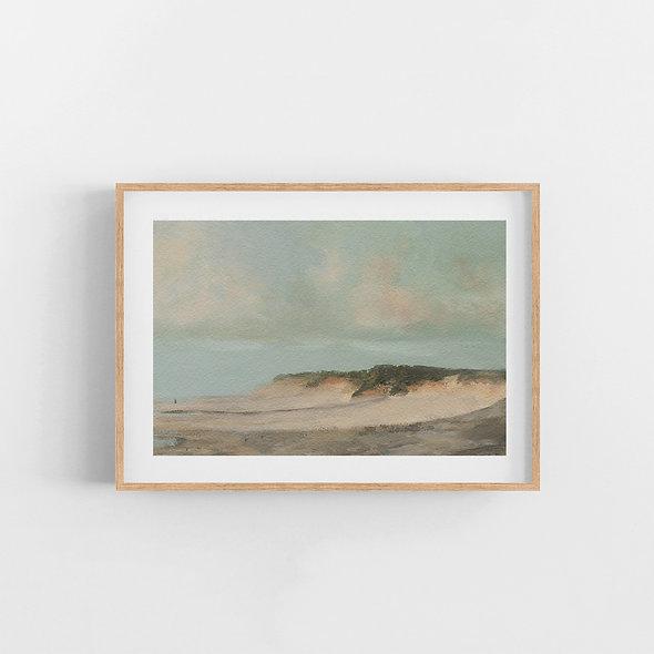 Walk on the Sand | A Horizontal Print