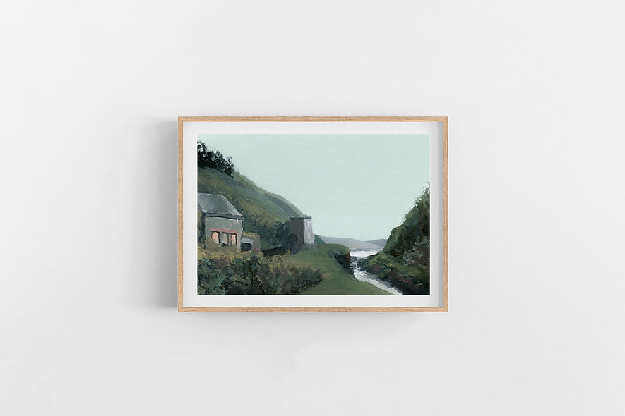 """""""Nestled by the River"""" 