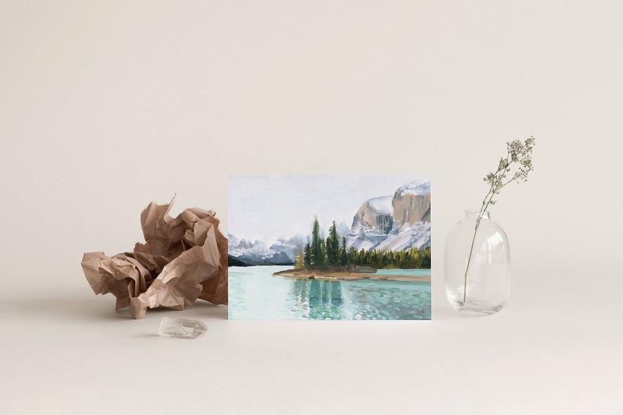 """Spirit Island""   A Horizontal Print"