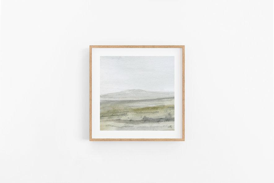 Stillness - No.3 |  A Square Print