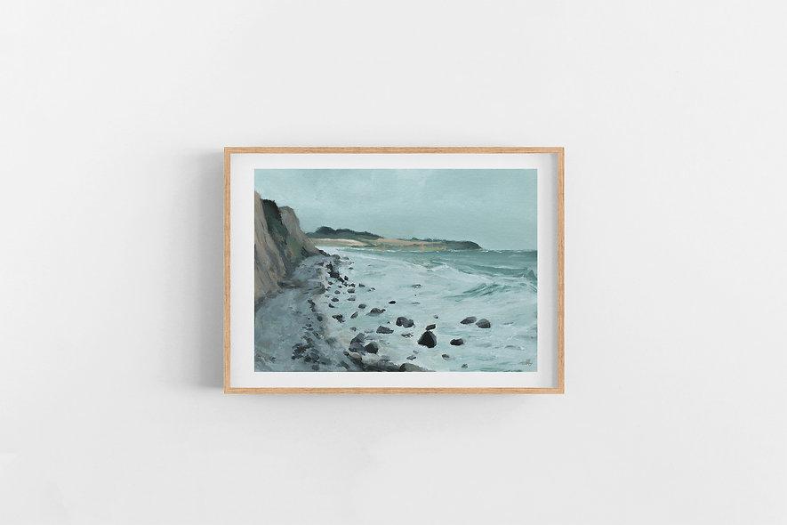 """Waves Carry Memories - i""   A Horizontal Print"