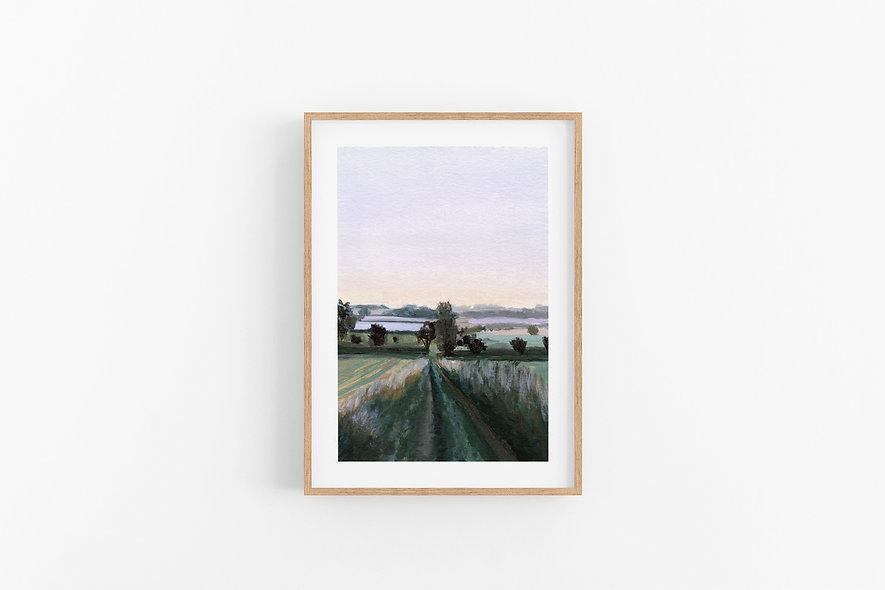 "2 / 18     ""Lead the Way"" Landscape Original"