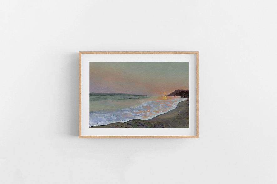 "4 / 18  |  ""Anchor Me Here"" Landscape Original"