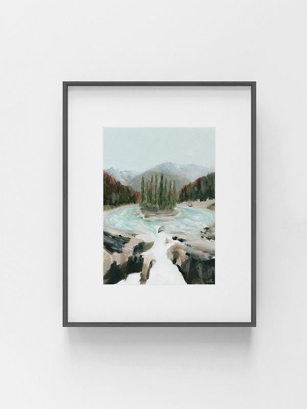 Clarissa-Mae-Art-Sunwapta-Falls-Dark-frame.jpg