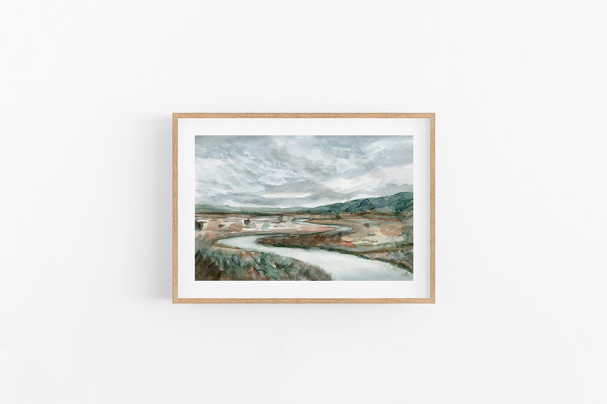 Carve a New Path |  A Horizontal Print