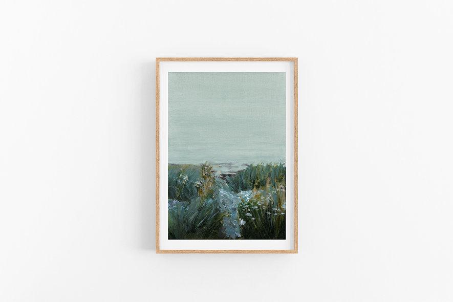 """Wildflowers Before Dawn"" | A Vertical Print"
