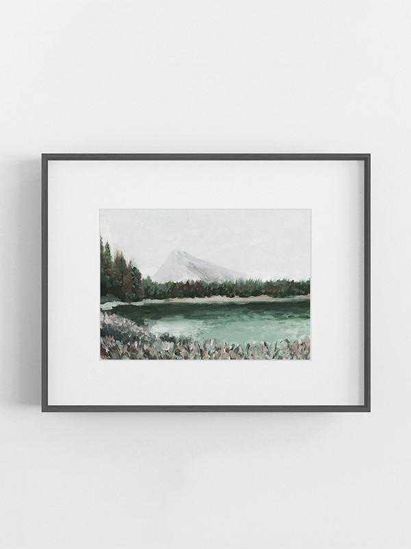 Clarissa-Mae-Art-Emerald-Green-Lake-Dark-frame.jpg