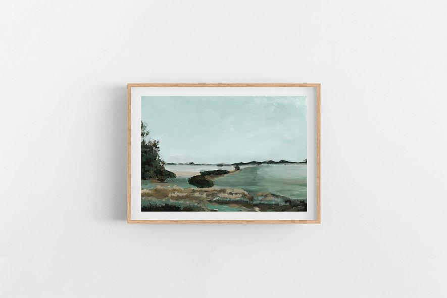 """Morning Stillness"" | A Horizontal Print"