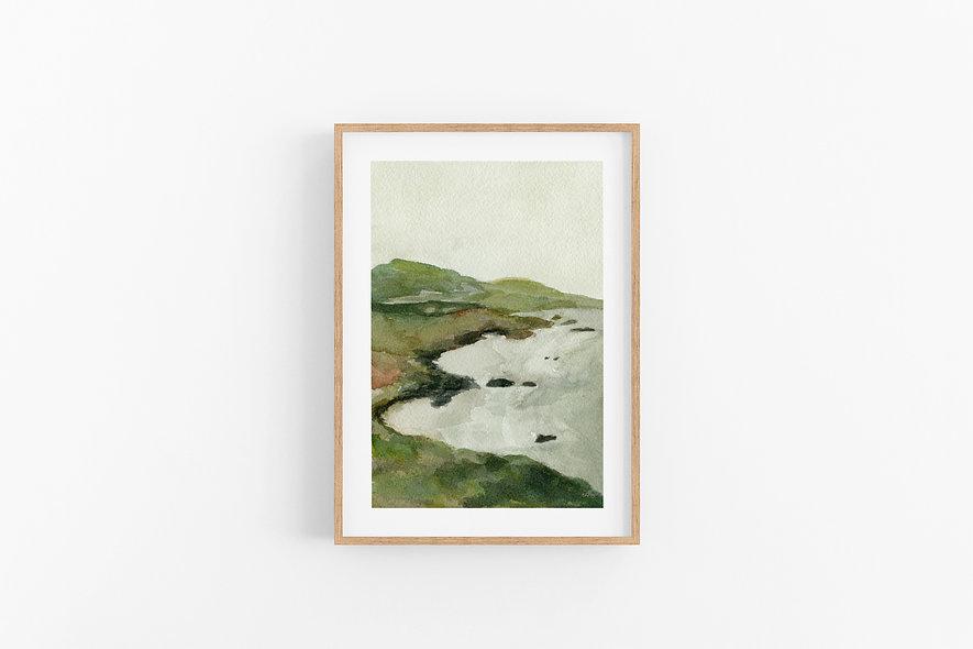 See Beyond- No.1 |  A Vertical Print