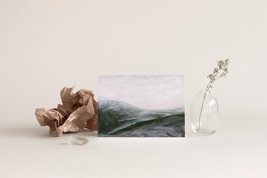 """From My Memories of Peyto Lake"" | A Horizontal Print"