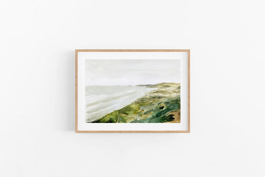 See Beyond - No.3    A Horizontal Print