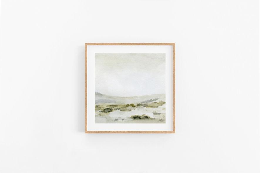 Shifting - No. 3 |  A Square Print