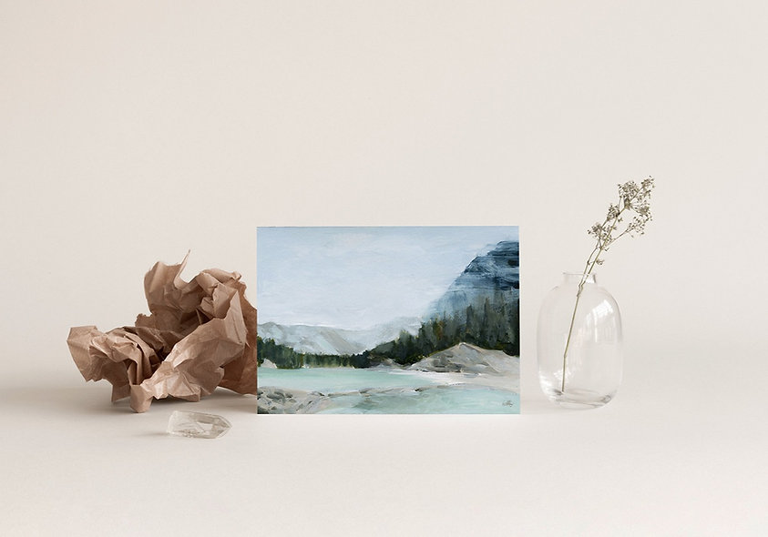 """""""Slow Summers by the River"""" Horizontal Landscape"""
